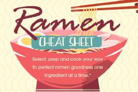 Ramen Cheat Sheet