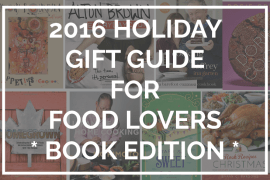 2016 Holiday Gift Guide - books