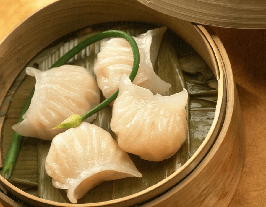 ha gow (shrimp dumplings)