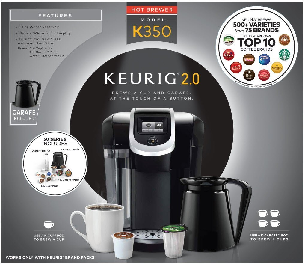 Keurig K350 Brewing System Review