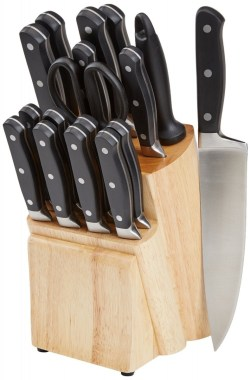 AmazonBasics-18-Piece-Knife-Block-Set-Review
