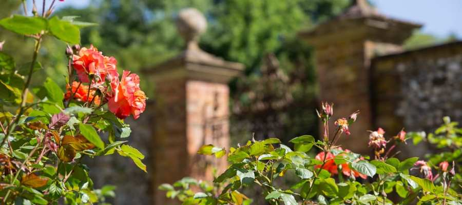 Thw Walled Garden at Chawton House, Hampshire