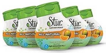 Stur liquid water enhancers