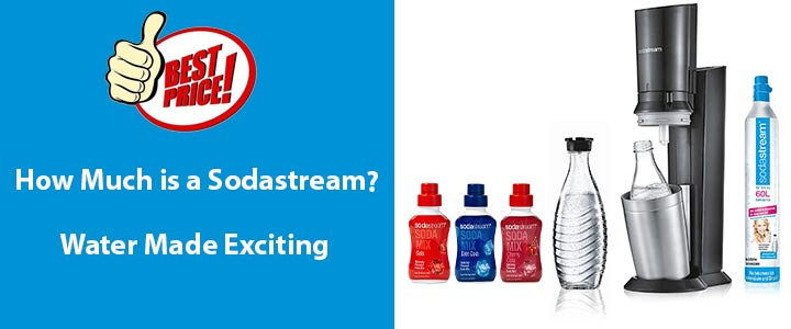 how much is a sodastream