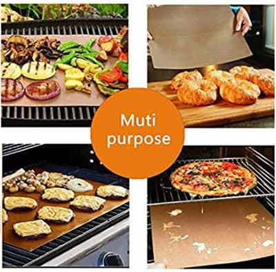 copper chef grill mat reviews