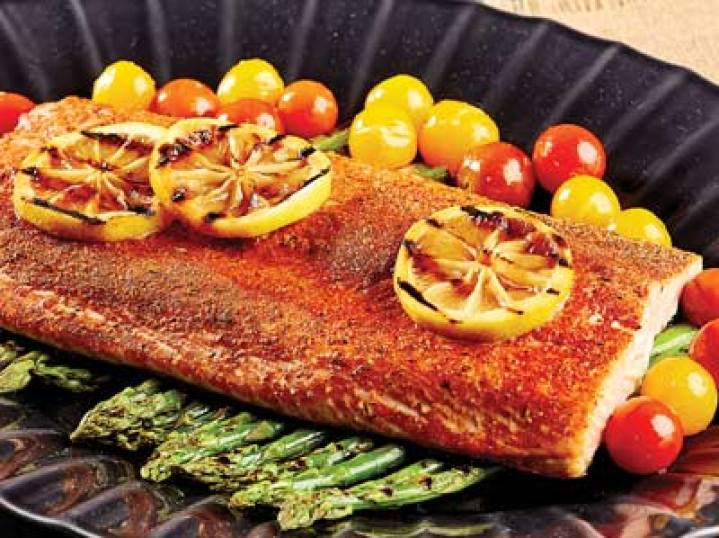 Copper Chef Roasted Salmon & Vegetables Recipe
