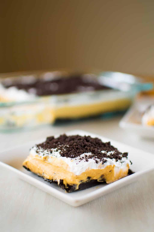 Pumpkin Oreo Dessert  Kitchen Gidget
