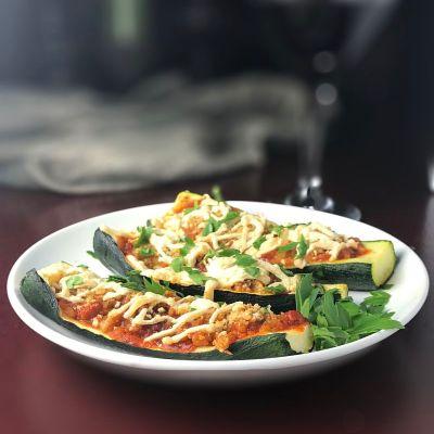 Best Stuffed Zucchini Boats