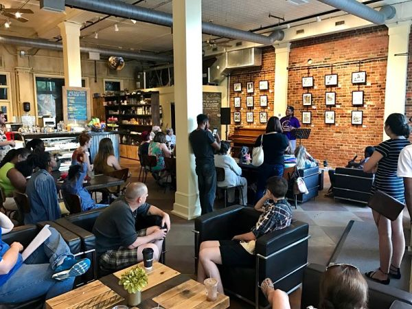 Hot Springs Arkansas Wednesday Poetry Night at Kollective