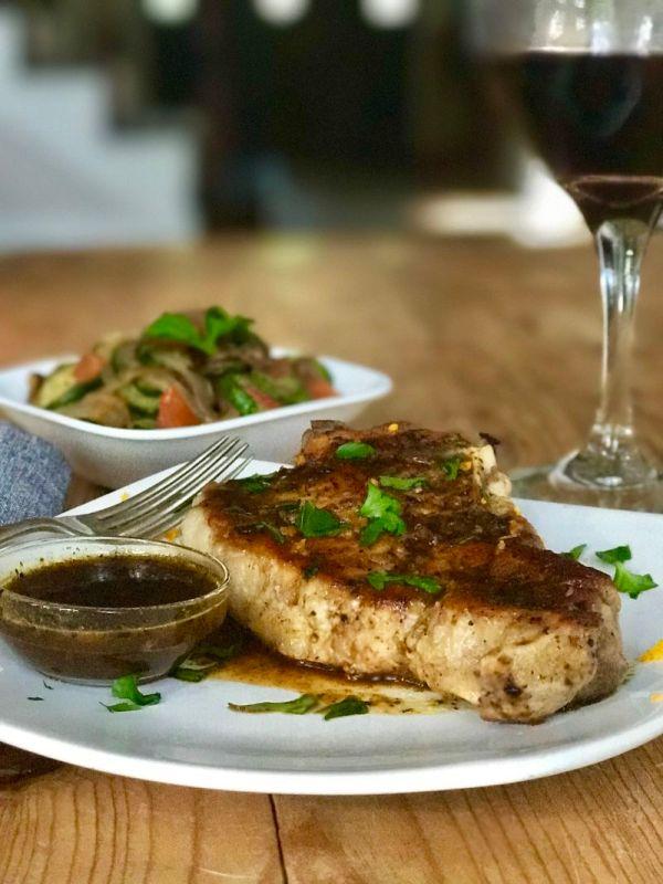 Pork Tenderloin with Mojo Sauce