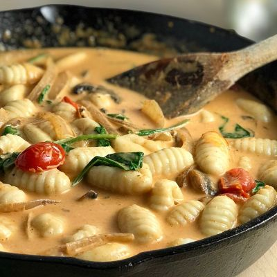Red Thai Curry Gnocchi