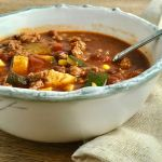 Vegetable Turkey Chili