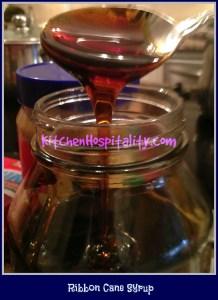 Ribbon Cane Syrup