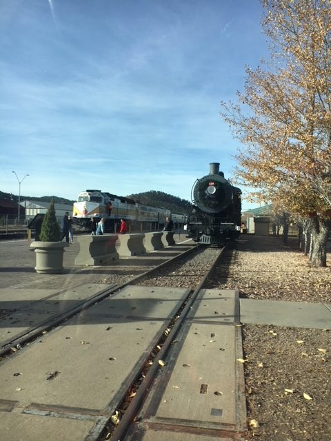 train station, Williams, AZ