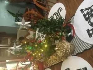 Mini Christmas trees
