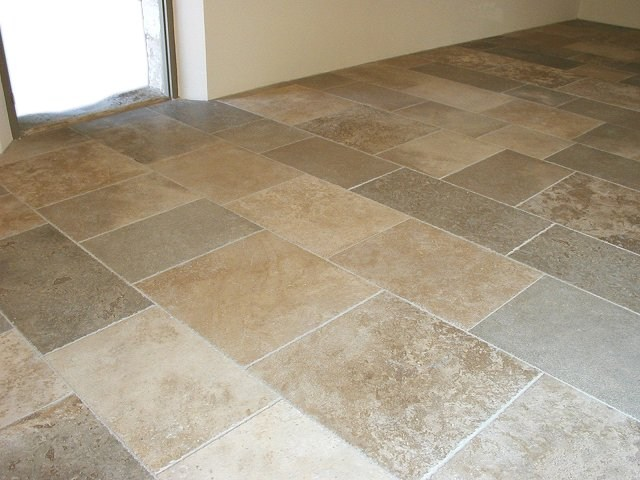 stone kitchen flooring home depot cabinet refacing ireland