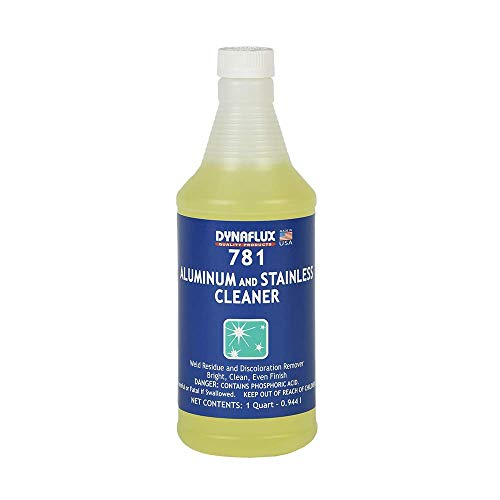 Dynaflux 781 Aluminum and Stainless Steel Cleaner - 1 Quart Bottle