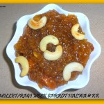 ragi milk carrot halwa
