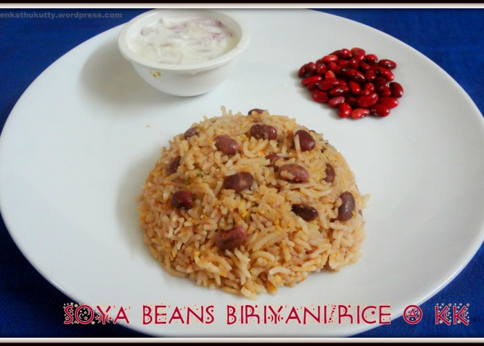 Soya bean rice