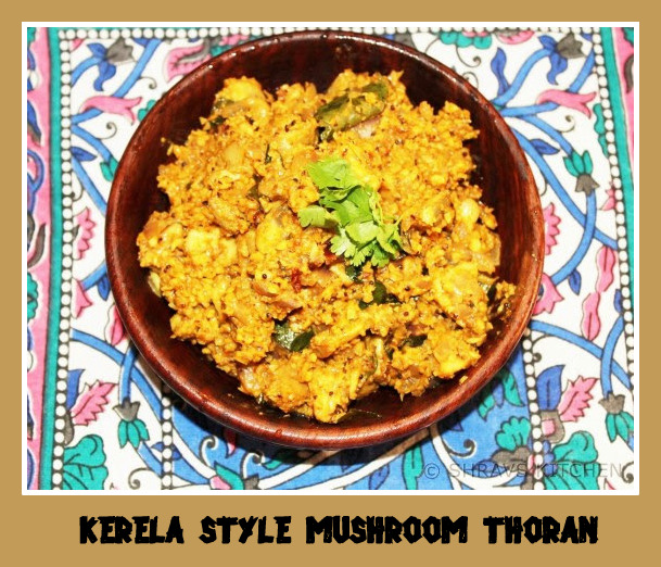 Mushroom Thoran