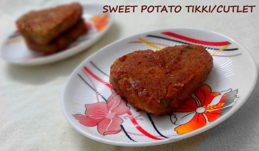 SWEET POTATO CUTLET/TIKKI/PATTIES