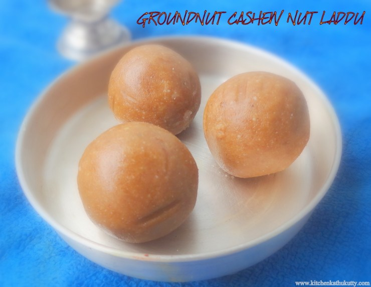 groundnuts laddu