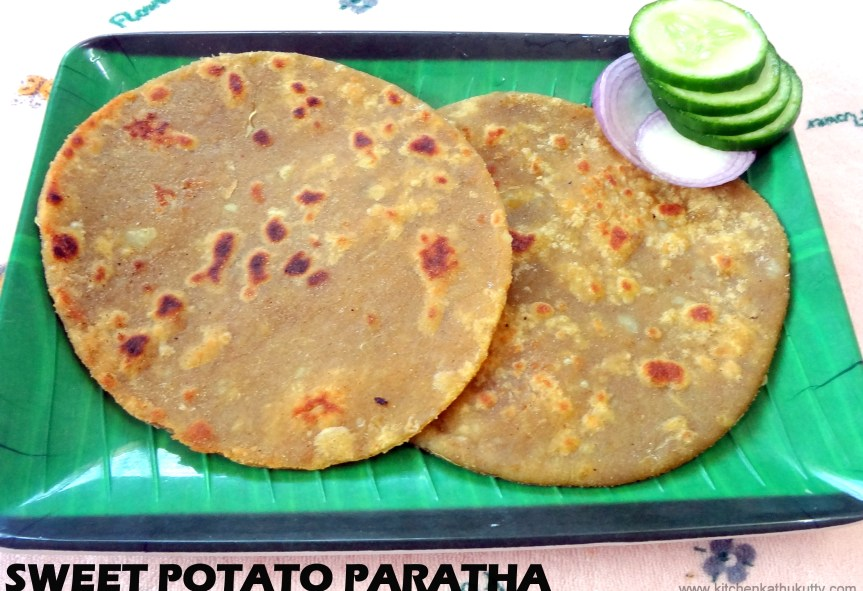 SWEET POTATO PARATHA