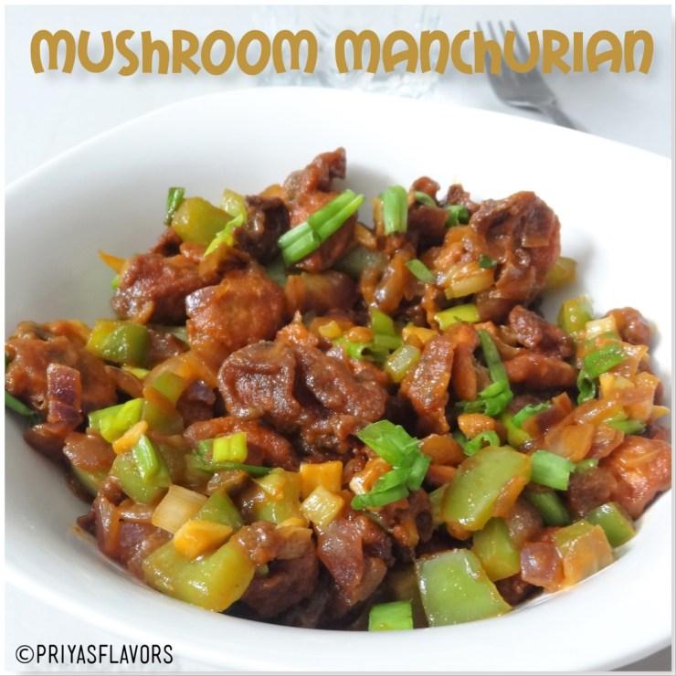 mushroom manchurian