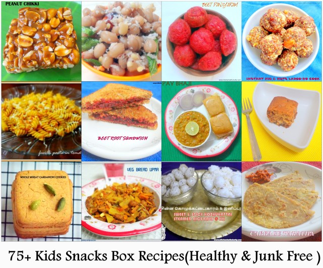 Kids Snack Box Recipes