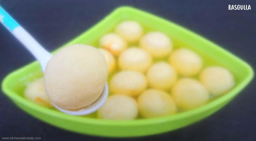 Spongy Home made Rasgulla|Rasgulla Recipe