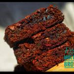 eggless mutigrain brownies