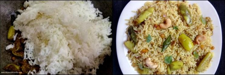 Vaangi Baath|Brinjal Rice