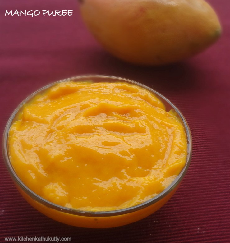 mango puree for babies
