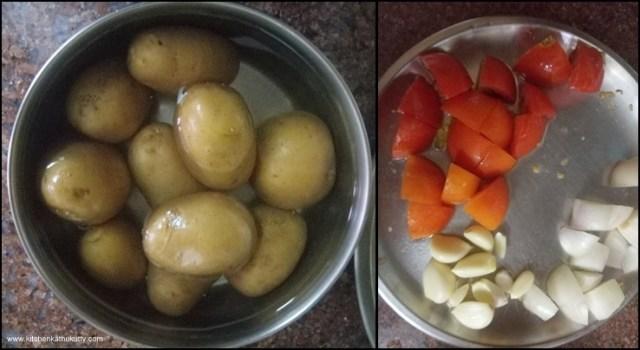 Chettinad Urulai Curry