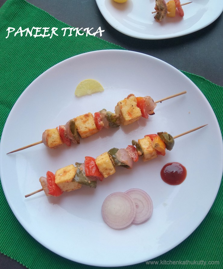 paneer tikka and baby potato tikka recipe