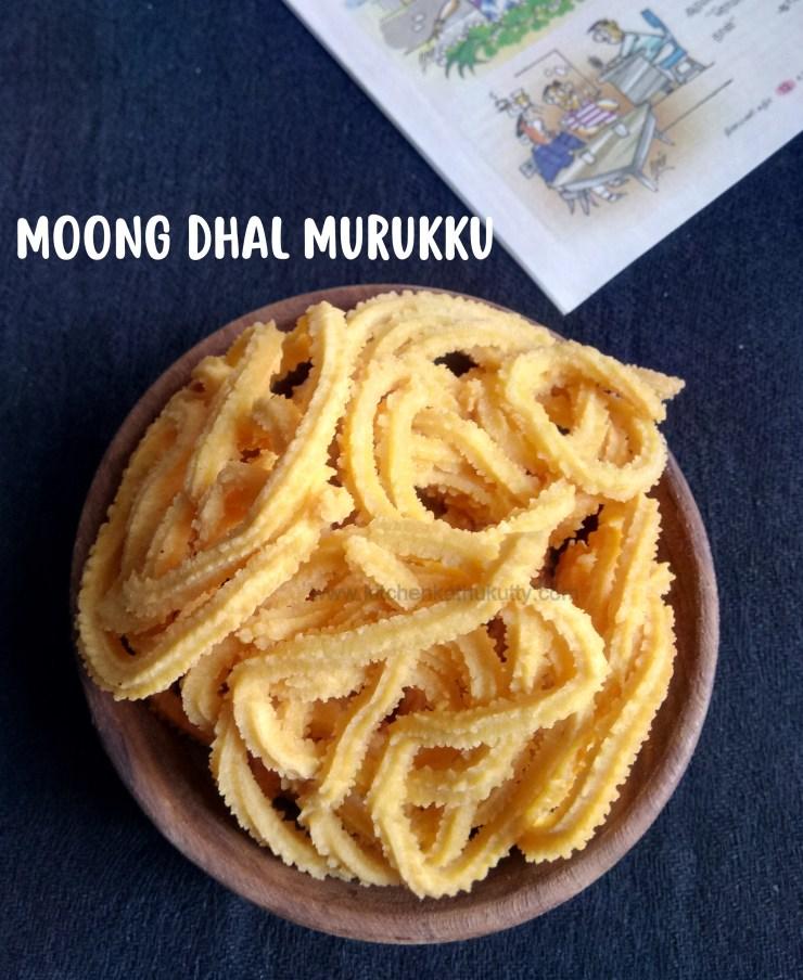 Moong Dal Murukku Recipe Paasi Paruppu Murukku Recipe