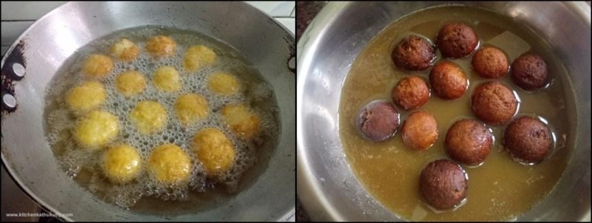 palm sugar syrup gulab jamun