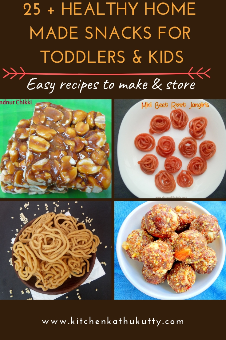 Healthy Indian Snacks for Toddlers & Kids