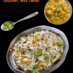 Coconut milk pulao recipe