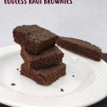 eggless ragi brownies
