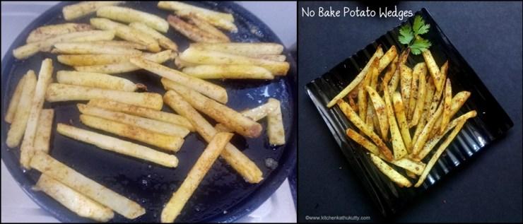 no bake potato wedges recipe