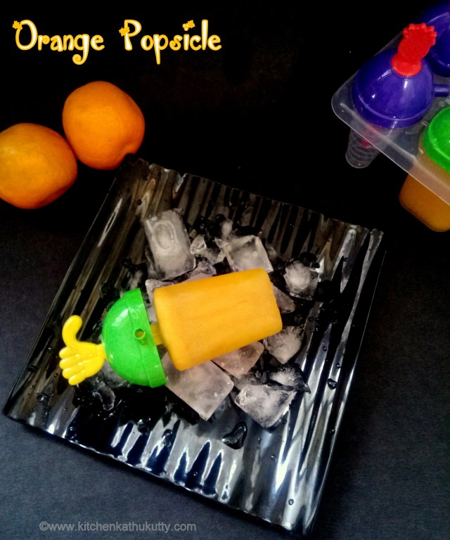 orange popsicle recipe
