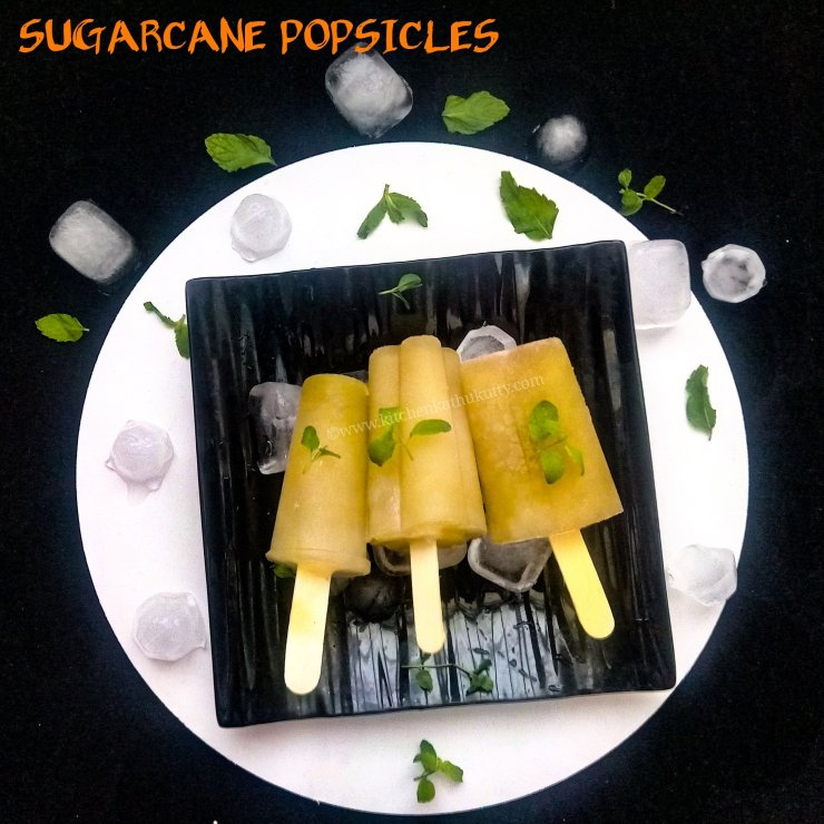 Sugarcane Popsicles Recipe