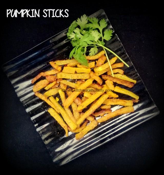 Pumpkin Sticks Recipe