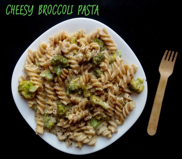 cheesy broccoli pasta