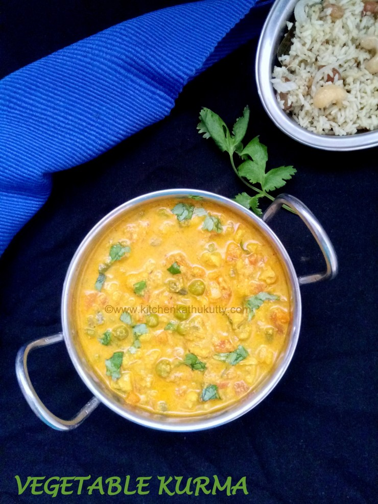 vegetable kuruma recipe