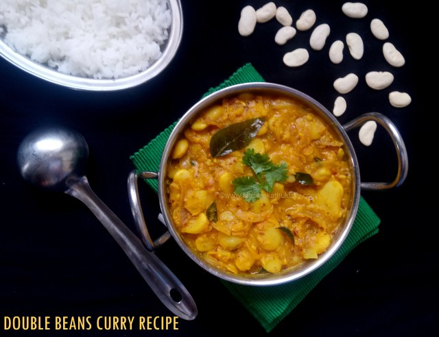 double beans curry recipe