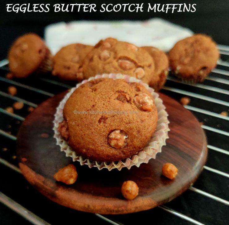 vegan butter scotch muffins recipe