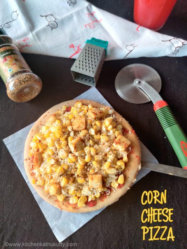 whole wheat corn cheese pizza recipe