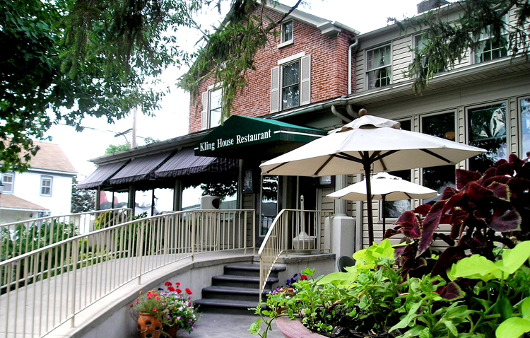 The Kling House Restaurant Dining At Kitchen Kettle Village In Lancaster PA
